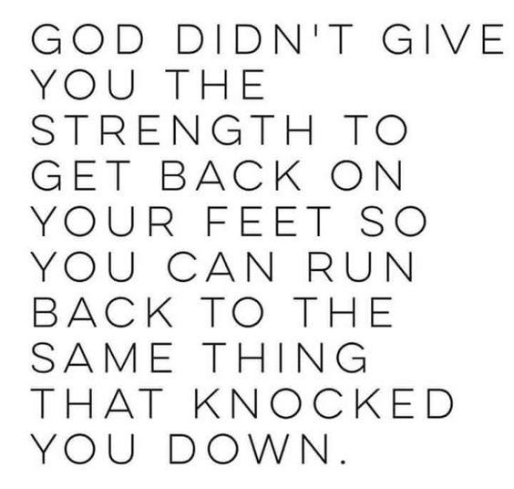 No turning back.