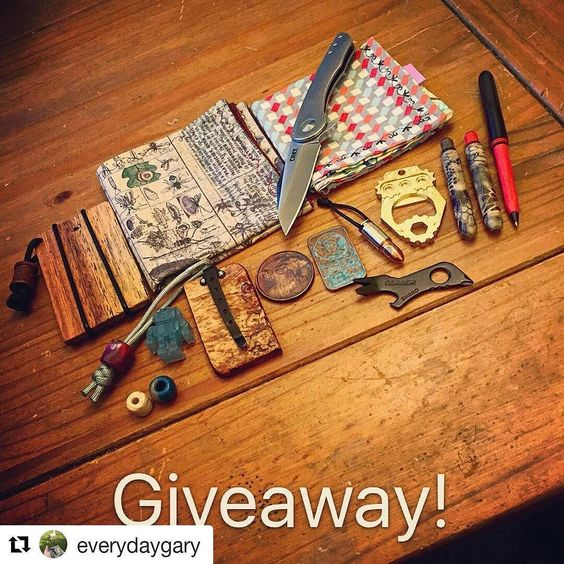 #Repost @everydaygary  Official 2k follower giveaway drops...NOW!  Thank you all so much for making this an awesome place to share my love for knives and EDC. I do my giveaways as a way to pay it forward and give my followers an opportunity at some kickass gear. I am humbled by the makers who have contributed to this. They are what makes the EDC community so special. I waited until today because its my birthday but I want to give this loot to one of you guys! Haha.  The loot:  CRKT Jettison…