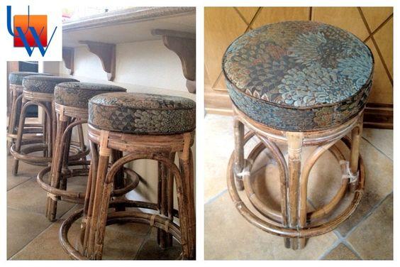 Upholstered Barstools By Upholstery Works. Las Vegas, NV  Http://www.UpholsteryWorksLV.com | Furniture Upholstery | Pinterest | Furniture  Upholstery And ...