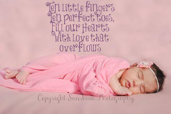 Because everyone loves a sleeping baby <3