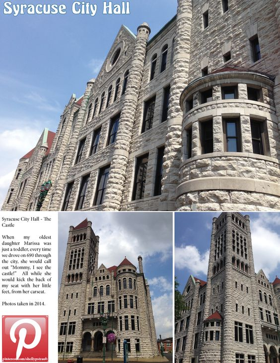 Syracuse City Hall - my daughter always called it The Castle. With @strauberry28