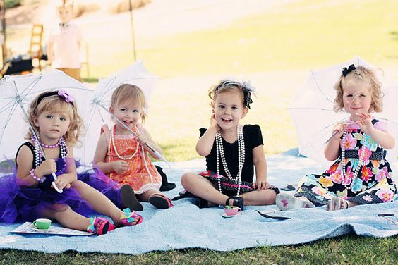tea party for little ones