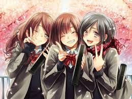 Image Result For Anime Friendship Friend Anime Anime Sisters Anime Friendship
