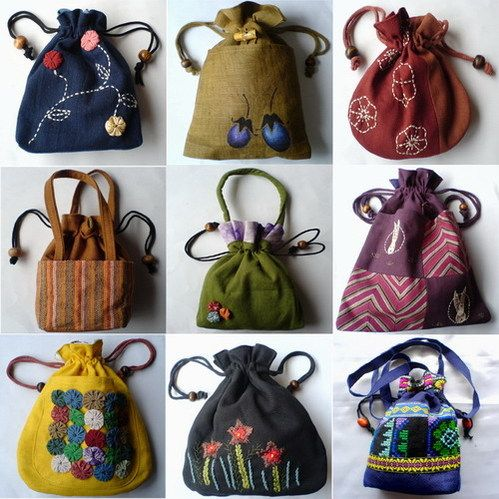 how to make handmade cloth bags