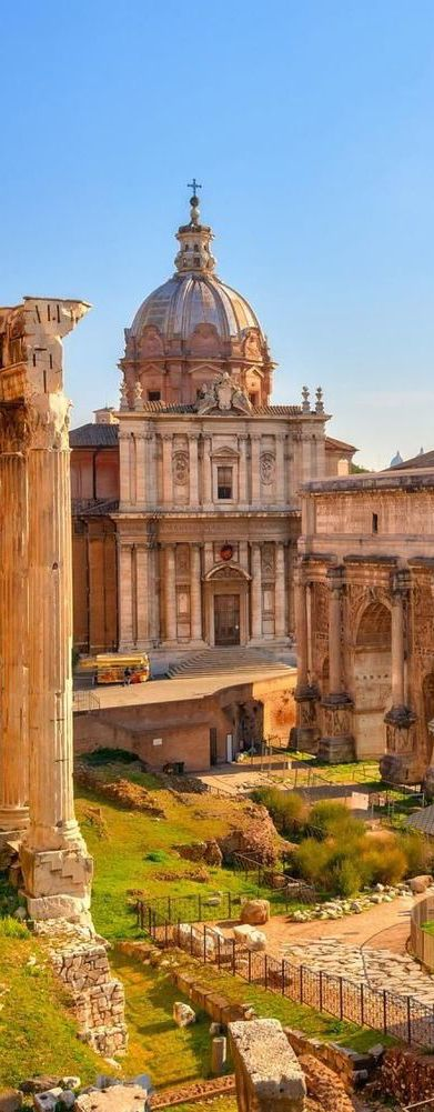 The Forum, Rome, Italy                                                                                                                                                                                 More: