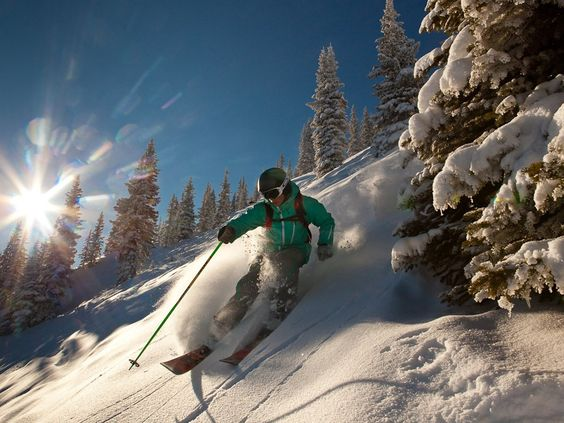 Cut through fresh powder on skis or a snowboard in Aspen or Vail, Colorado.
