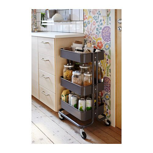 r skog utility cart ikea home pinterest art supplies extra storage and hair dryer. Black Bedroom Furniture Sets. Home Design Ideas