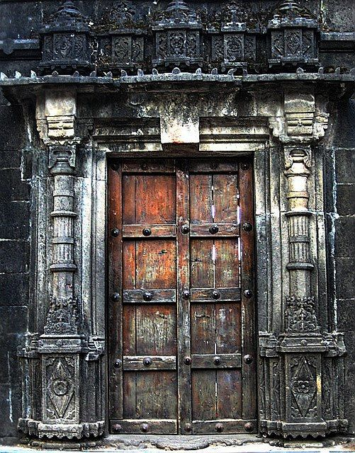 Portal to the Tyambak Temple, India. Not really a view, but love this nonetheless.