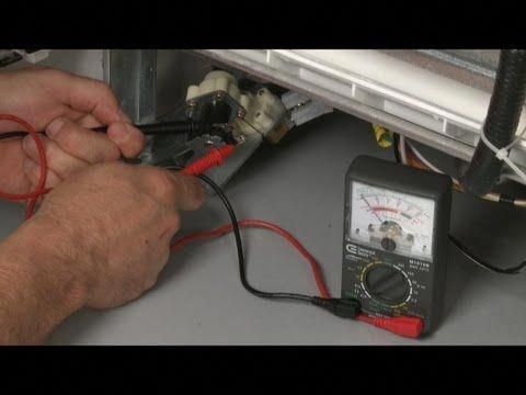 This Video Provides Step By Step Repair Instructions For Replacing The Float Switch On A Ge Dishwasher Th Repair Refrigerator Ice Maker Repair And Maintenance