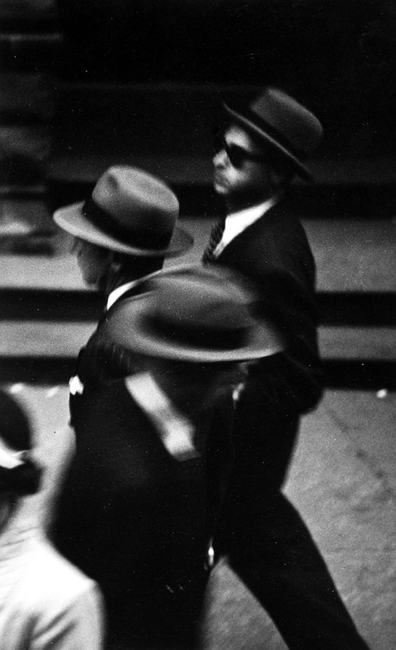 Saul Leiter, Hats, c.1948, ©Saul Leiter, Courtesy Howard Greenberg Gallery, New York.