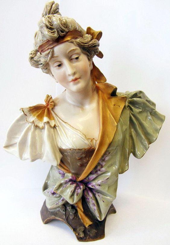 Amphora Teplitz. Bohemia Art Nouveau, 19-20вв.