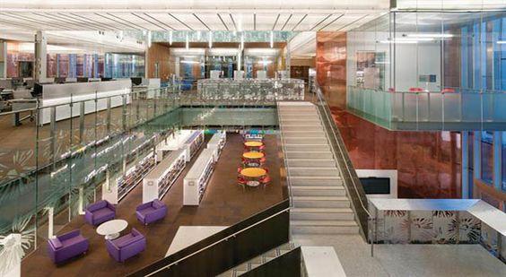 Biblioteca de cobre en Estados Unidos