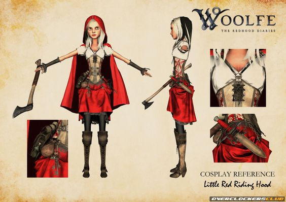 Dark Fairy Tale Platformer Woolfe: The Redhood Diaries Coming to PC, PS4, and XBO in Q1 2015