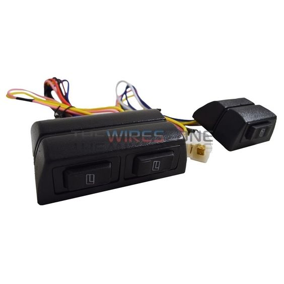 details about new universal high quality 12 volts power window new universal high quality 12 volts power window switch kit w wire harness 12v