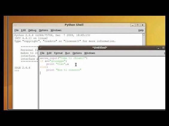 Tutorial 8 - Imparare Python - #Else #If #Imparare #ITA #Italiano #Lezione #Lezioni #Programma #Programmare #Programmazione #Python #Tutorial #Ubuntu #Video http://wp.me/p7r4xK-Ki