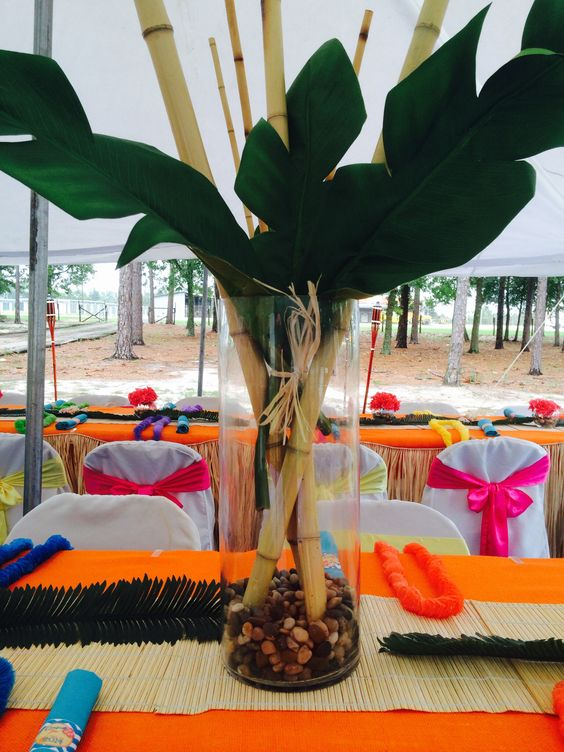 Camellia events hawaiian luau