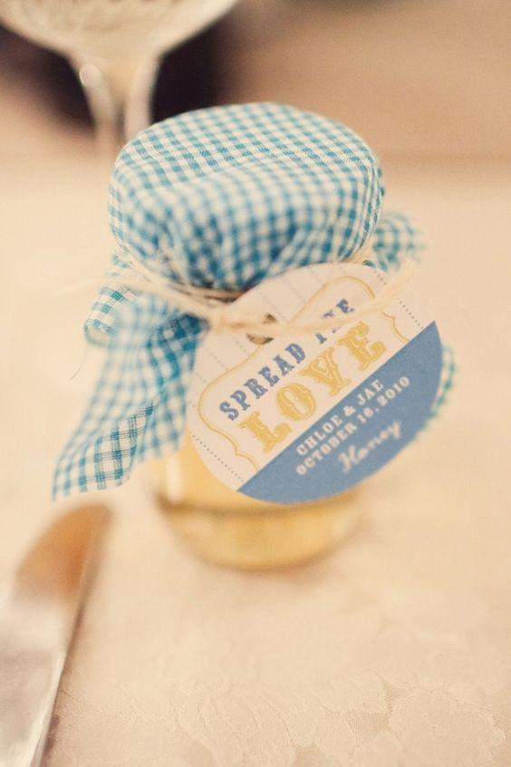 Le cadeau aux invit s id al pots fait maison et mariage - Cadeaux invites mariage fait maison ...