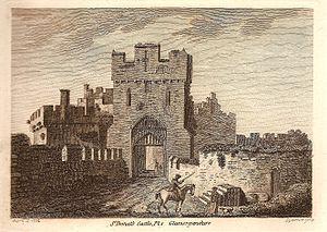 St Donat's Castle 1774