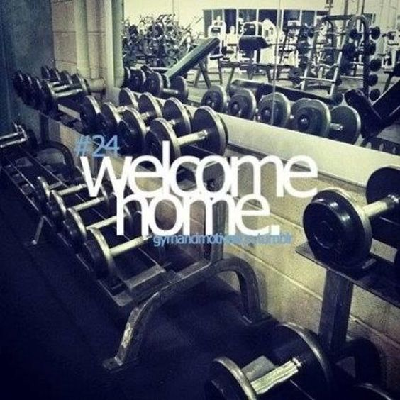 Get comfortable with being in the gym