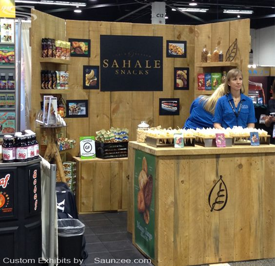 Trade Show Booth Walls : Custom barn wood trade show booths exhibits rustic