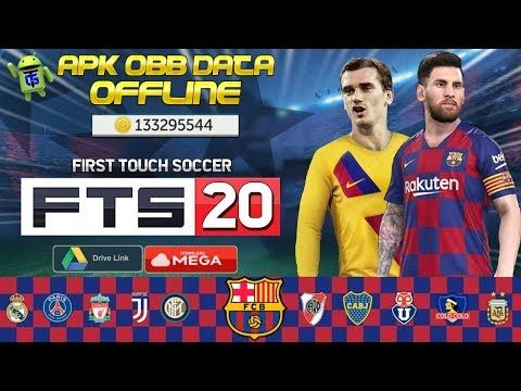 Fts 20 First Touch Soccer 2020 Mod Apk Obb Data Money Download Youtube In 2020 Offline Games Install Game Game Download Free