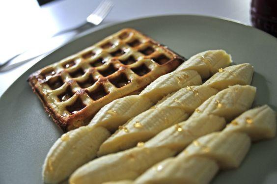 不萊嗯的烘培廚房: Q軟版美式格子鬆餅 | America Waffle