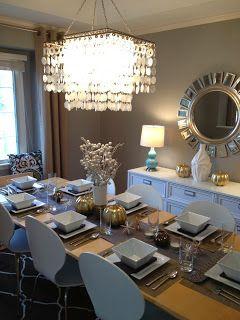 Dining room décor.