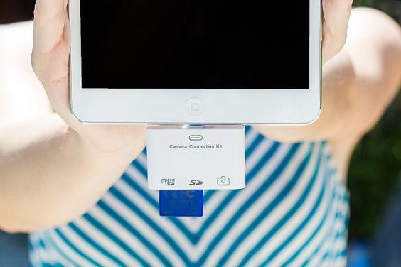 iPad CF and SD Card Readers - The Photojojo Store!