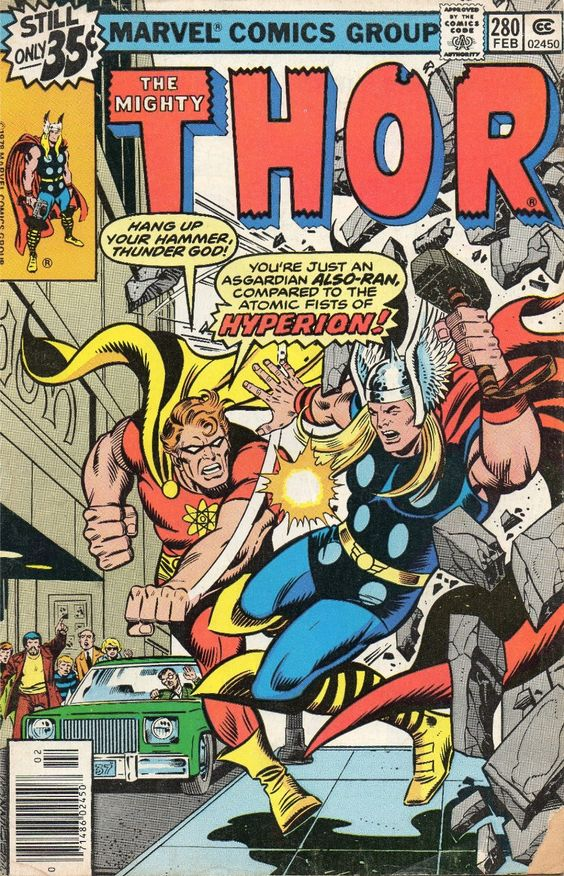 Comic Book Cover Ideas ~ Vintage thor comic book google search ideas