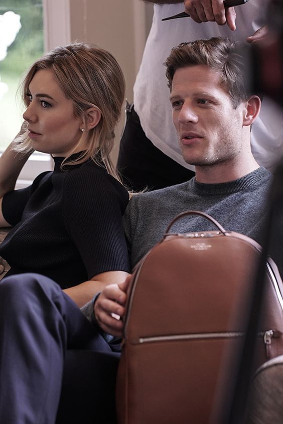 Smythson AW16 Campaign with James Norton and Vanessa Kirby