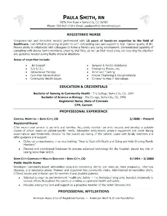 Nursing School Resume Template Nursing Resume Examples