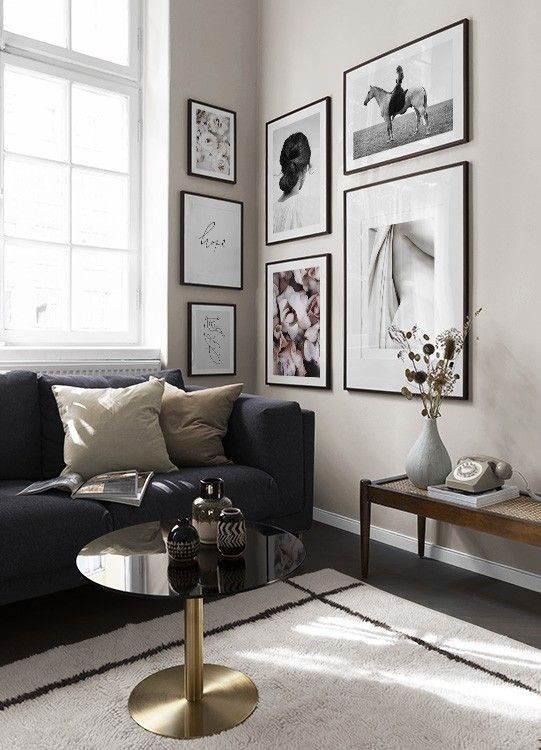 Gallery Wall And Picture Wall Inspiration Desenio Com In 2020 Corner Gallery Wall Gallery Wall Inspiration Wall