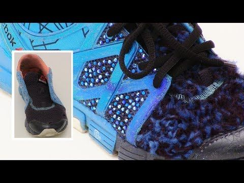 SNEAKERS into Chanel Style Trainers DIY
