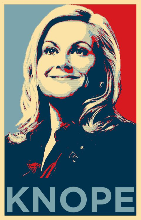 Leslie knope, Parks and and Presidential candidates for ...