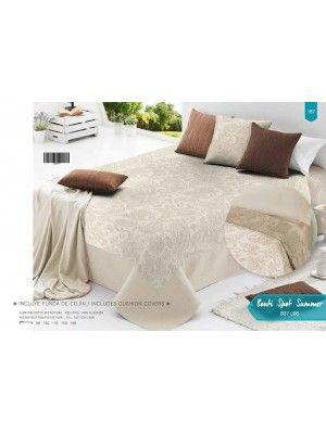 Summer Bedspread with pillowcases - 250X270cm art SPOT- select color