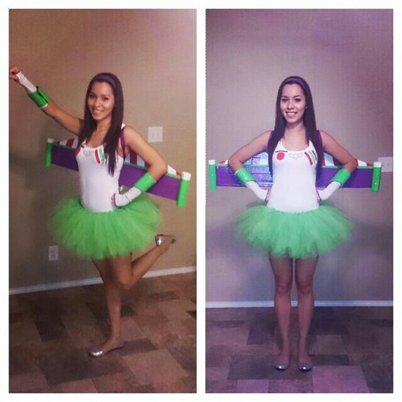 Homemade buzzlightyear costume. Disney themed party ...