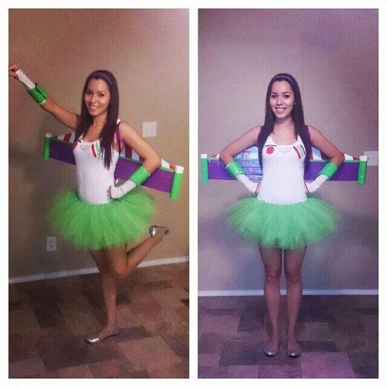 Homemade buzzlightyear costume. Disney themed party ...