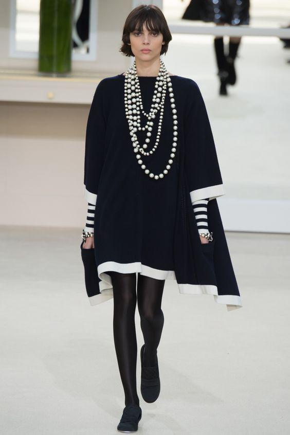 Défilé Automne, Mode Automne Hiver 2016 2017, Mode Femme Automne 2016, Défilé Chanel, Chanel Robe, Bijoux Couture, Show Défilé, Tendance Mode Femme Hiver
