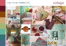 Sampleboard - Pantone color trend collage