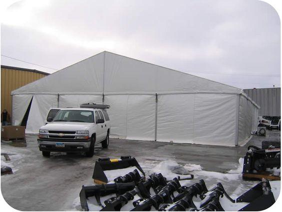 18M x 25M White Clearspan