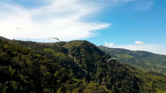 Paragliding over giant waterfalls - Image 8