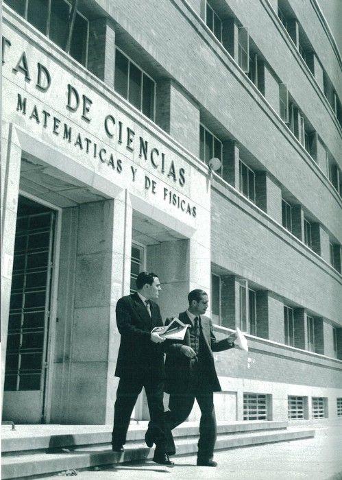 Ciudad Universitaria, Madrid, 1955, Cas Oorthuys.