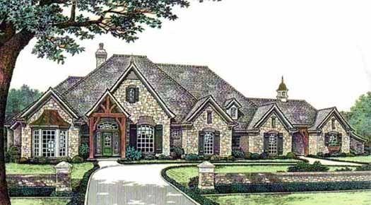 8 523 house floor plans 4bdr 4full amp 1halfbaths 1 story 3 ranch style house plans 5024 square foot home 1 story