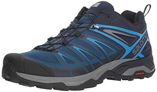 Salomon Men's X Ultra 3 Trail Running Shoe, PoseidonIndigo