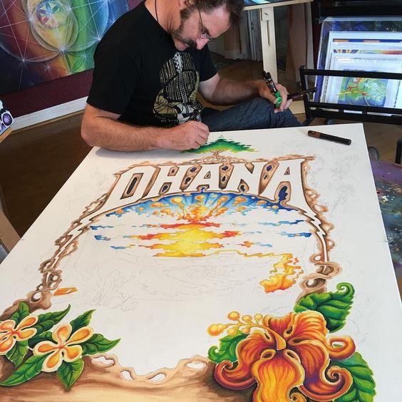 Stoked to be doing the artwork for the #admat and tees for Eddie Vedder's Ohana Fest concert this summer.   Thanks @mrtsurt for the opportunity!  #TheOhanaFest  #danapoint #EddieVedder #LanaDelRey #ElvisCostello #CityAndColour #BandOfHorses #CatPower #Mudhoney #CorrineBaileyRae #WhiteReaper #RyanBingham #JonnyTwoBags #JackIrons #Wilderado #LilyMeola #OhanaFest #Ohana #Doheny #surf #surfer #surfing #surfart #concertposter by drewbrophy