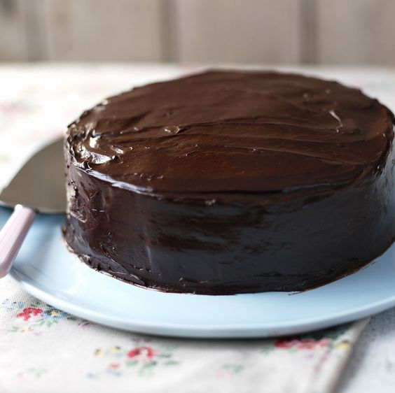 A great recipe for an easy, foolproof chocolate cake. It's moist and fudgy and will keep well for 4-5 days