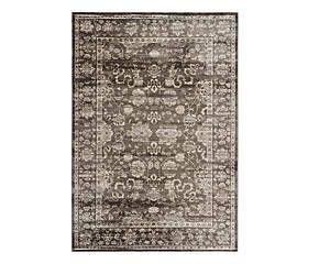 Teppich Pittsburgh, braun/elfenbein, 154 x 231 cm