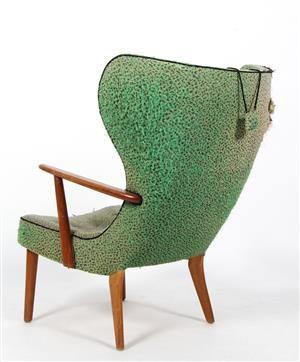 Lot: 4463397Madsen og Schubell. Lounge chair, 1950s
