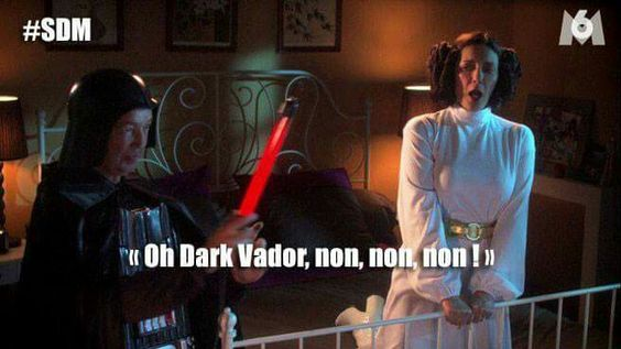 Scene de menage dark vador star wars