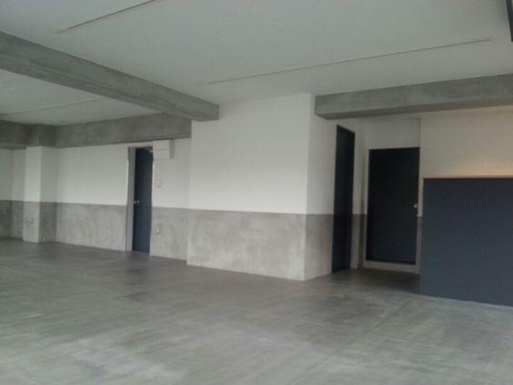 モルタル腰壁